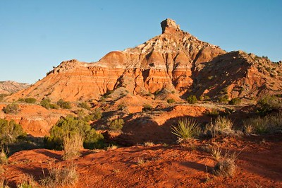 View from behind the stables, Palo Duro Canyon