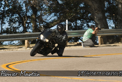 Motorcycle Riders on Palomar Mountain in San Diego, California. Photos were shot from a turnout on South Grade Rd.