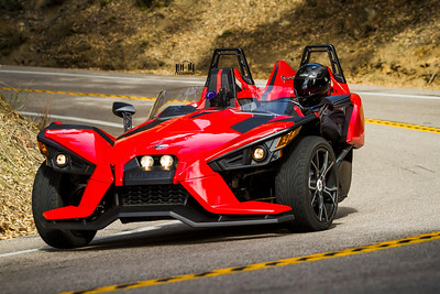 2015 Polaris Slingshot on Palomar Mountain