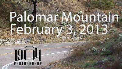 Some of the motorcycle riders from Palomar Mountain on February 3, 2013.   Actual video clips are in the days gallery: http://www.1904photography.com/Palomar-Mountain-motorcycle/2013/feb-3
