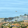 2 acre Fire down on PV Drive west opposite Terranea resort closed traffic both ways for a couple of hours on April 25th 2013