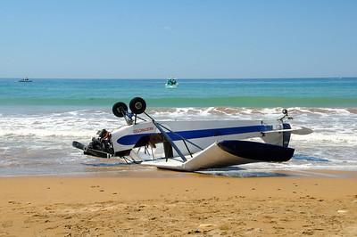 Plane Crash land Portuguese Bend 2013