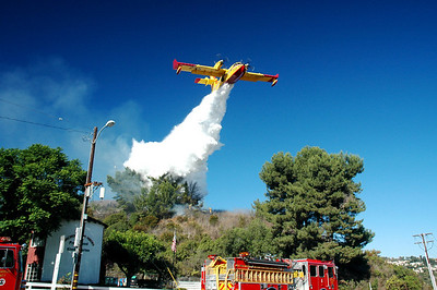 Rancho Palos Verdes Fire Oct. 7th 2008
