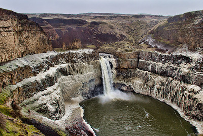 Frozen Spray, Palouse Falls