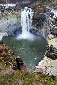 Ice Bowl at the Falls, Palouse Falls, WA