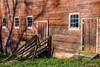 Old Red Homestead Barn, Warm Light