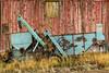 Old John Deere and Barn