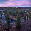 Palouse River Bend Dawn
