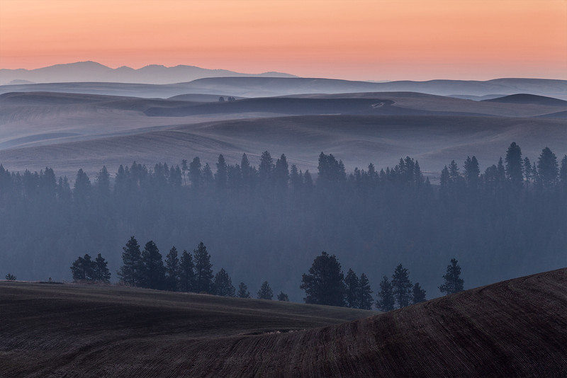 First Light over Palouse River Canyon
