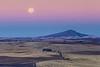 Harvest Moon at Sunrise