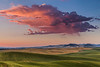 Cloud and Fields and Sunrise, Spring
