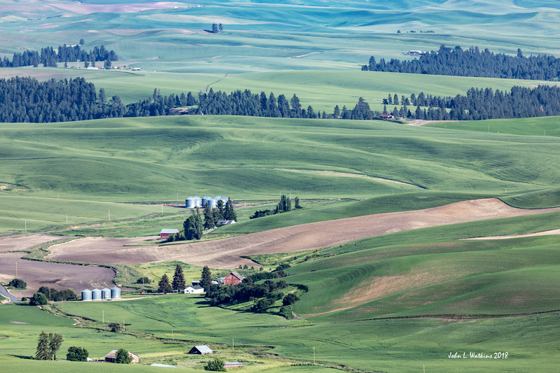 Farms from Steptoe Butte
