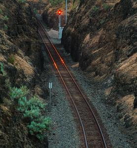 Orange Tracks