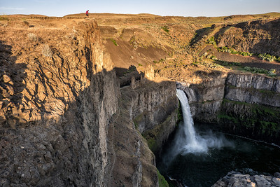 High Above Palouse Falls