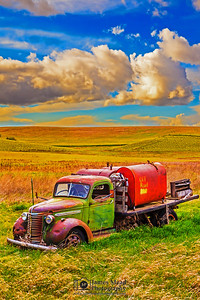 """In The Field,"" the Palouse, Washington"