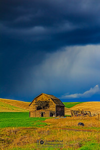"""Barn Storm,"" the Palouse, Washington"