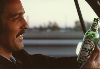 David Robertson and I visit San Francisco in 1977
