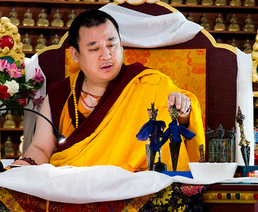 Dragmar Khentrul Rinpoche visit - Aug 2014