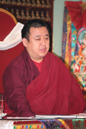 Dragmar Tulku's Surprise Visit 2013