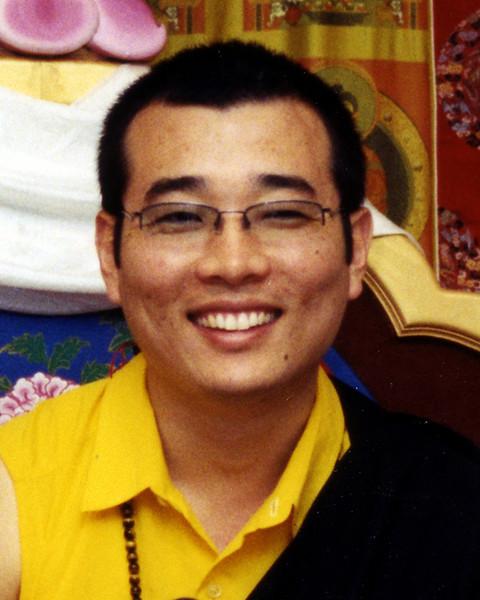 Khentrul Gyangkhang Rinpoche, at Kunzang Palyul Chöling, by Marilynn Church
