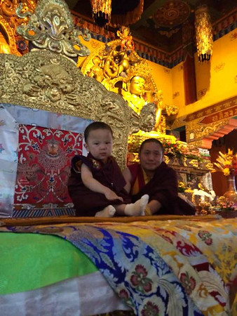 Enthronement of HH Penor Yangsi Rinpoche
