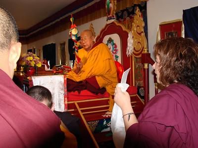 HH Penor Rinpoche Visit -2006