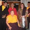 Mugsang Rinpoche, Tulku Thubsang, HH Penor Rinpoche, Jetsunma Ahkon Lhamo and Khenpo Tenzin Norgay in 2004 in New York.