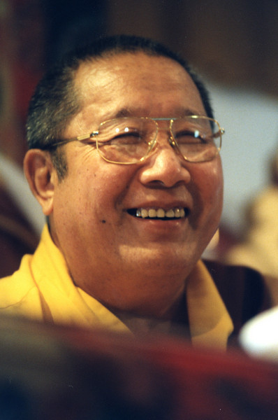 MG-307-32_H.H. Penor Rinpoche,  © Mannie Garcia in 1997