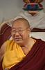 H.H. Penor Rinpoche at KPC in 2003, © Mannie Garcia