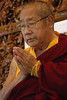 July 17 2007; His Holiness Penor Rimpoche at his Buddhist temple in Mc Donugh, New York.<br /> © Copyright 2007 by Mannie Garcia