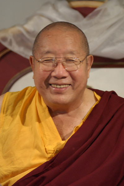 His Holiness, Penor Rinpoche and entourage visit KPC in Poolesville, Maryland, August 21-25, 2003.<br /> Photo by Mannie Garcia