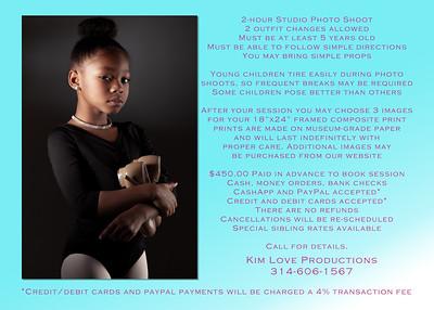 Dance Promo Back