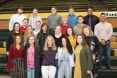PHS Choir at Hall of Fame 2018