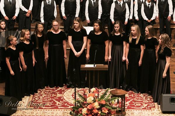 PJH Choir 2017 18