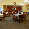 Dining room - 2 meals included - they have a choice of two main entrees