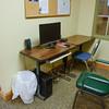 Public computer in activity room