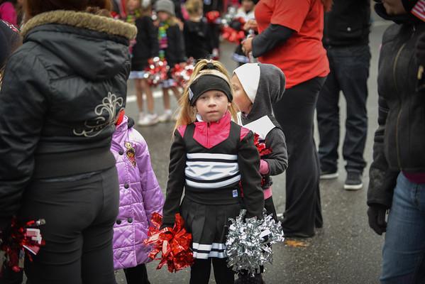 Veterans Day Parade - Shelby Cheerleading