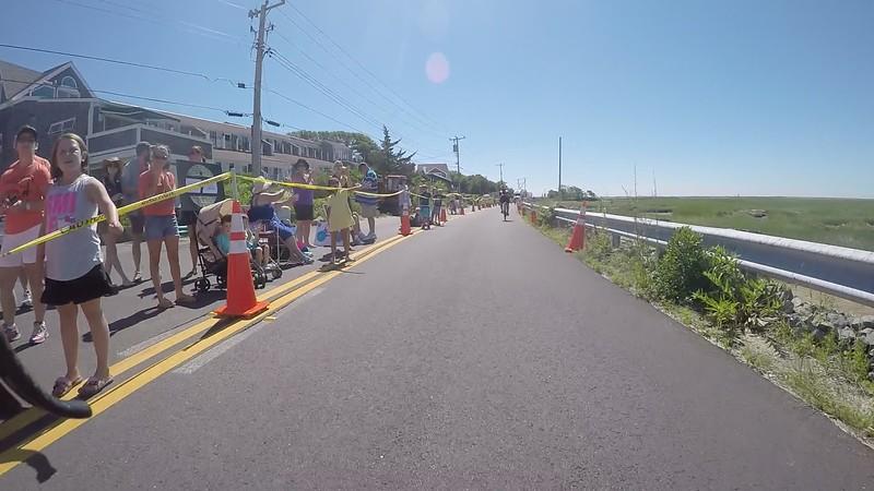 Pan Mass Challenge Provincetown Finish Line