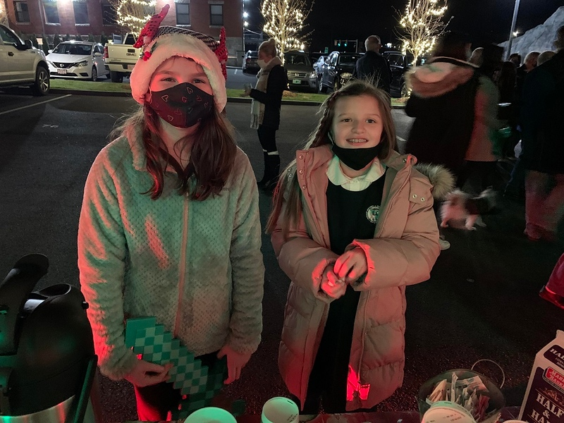 Kids enjoy hot chocolate.