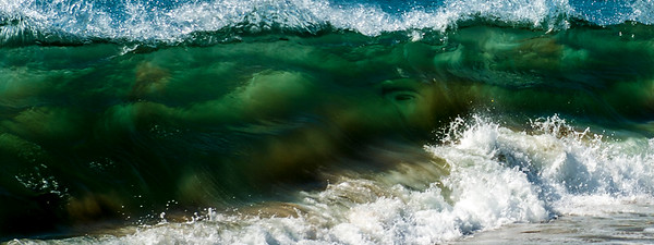 The eye of the wave