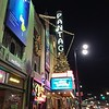 We capped off the night at the Pantages Theatre.