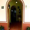 Front entrance ~ double arches