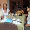 Stopped at the wonderful Casa de Lourdes restaurant in El Valle for lunch (at Los Mandarinos resort)