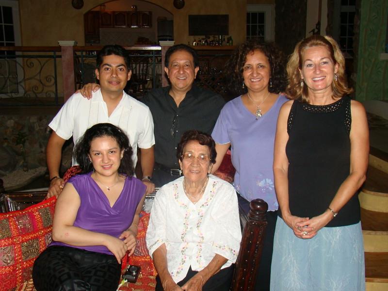 Luis & family, including Alberto, Mariana's new husband