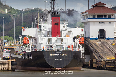 Locking through, Pedro Miguel Locks