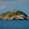 Island in Pacific Ocean