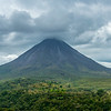 """""""Typical"""" View of Arenal Volcano"""