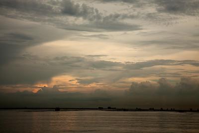 Ciudad De Panamá sunset Panama Canal