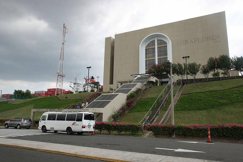 Ciudad De Panamá Miraflore locks - Panama Canal - Pacific side