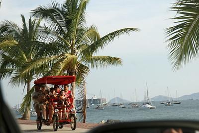 """view from   """"Amador causeway"""";Amador;Panamá;"""
